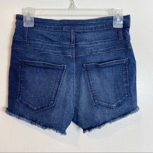 Refuge High Waisted Distressed Denim Shorts